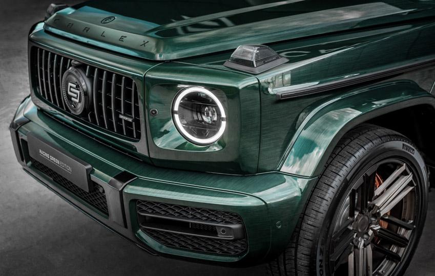 Vua địa hình Mercedes-Benz G-Class siêu cá tính với bản độ từ Carlex Design-6