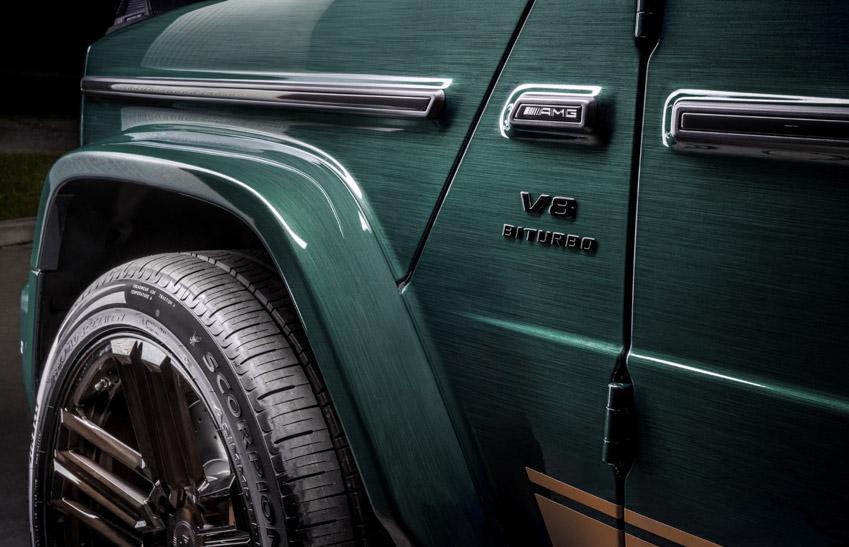 Vua địa hình Mercedes-Benz G-Class siêu cá tính với bản độ từ Carlex Design-7