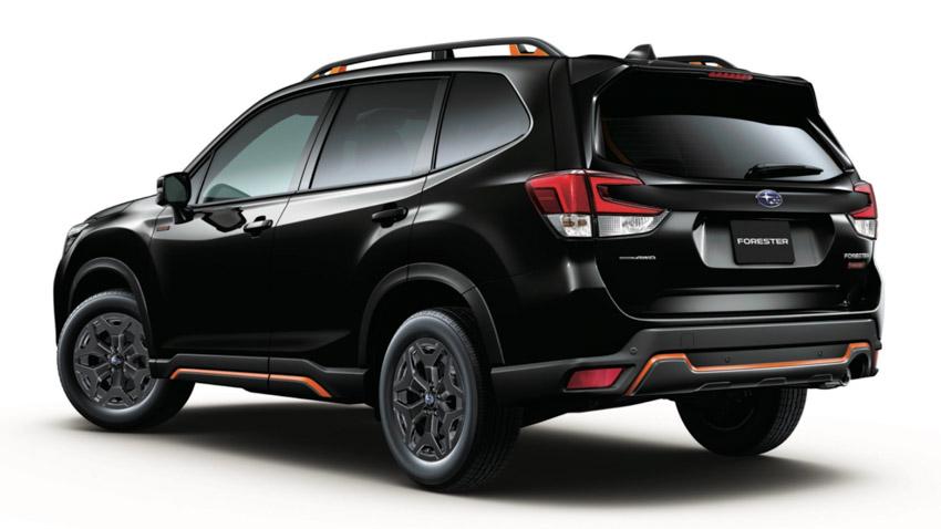 Subaru Forester có thêm phiên bản sử dụng động cơ 1.8L tăng áp - 6