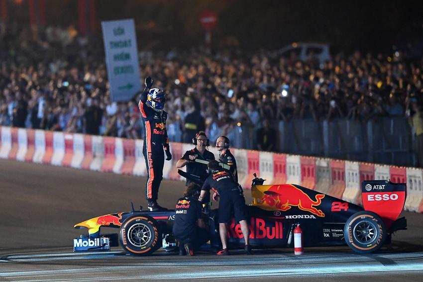 hủy đua F1 Việt Nam
