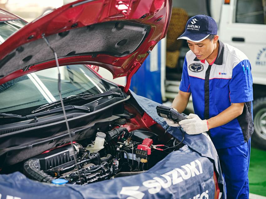 Suzuki Viet Nam giới thiêu Kho phụ tùng tại nhà máy Long Bình luôn dự trữ hơn 40.000 thiết bị - 2
