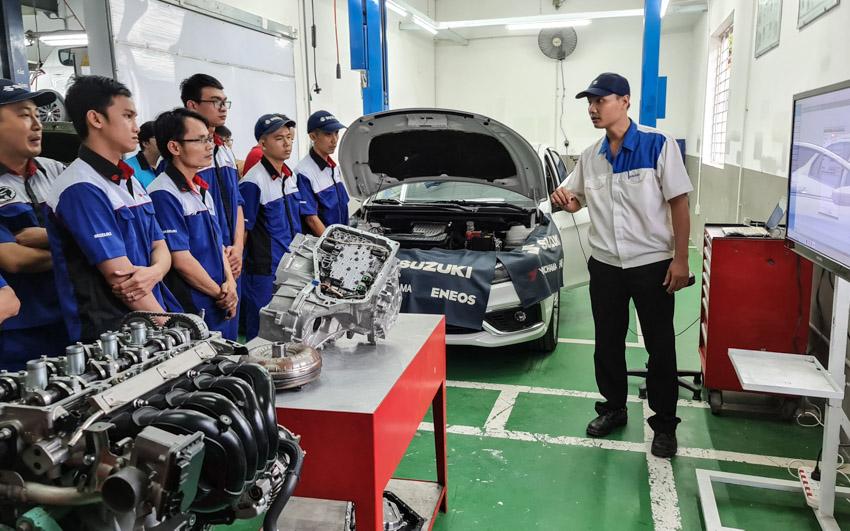 Suzuki Viet Nam giới thiêu Kho phụ tùng tại nhà máy Long Bình luôn dự trữ hơn 40.000 thiết bị - 3