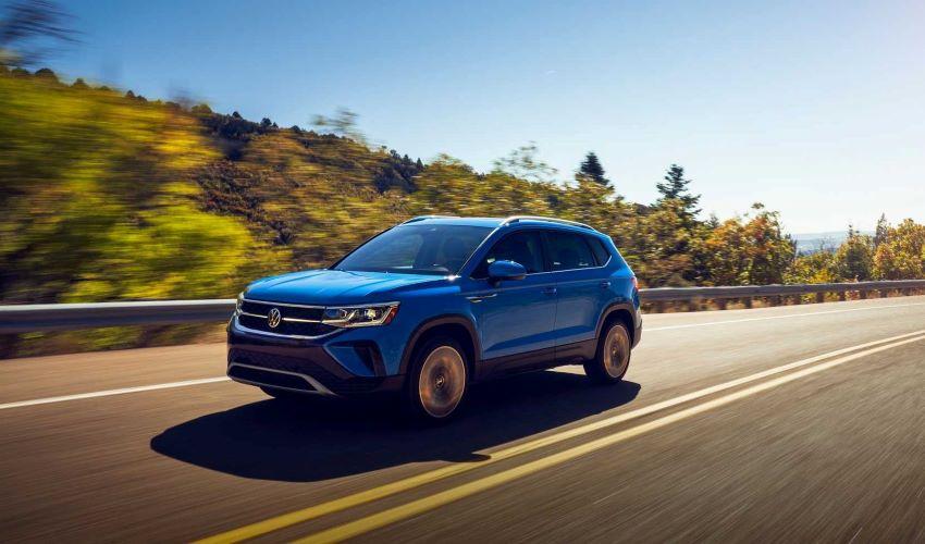 Volkswagen Taos mới