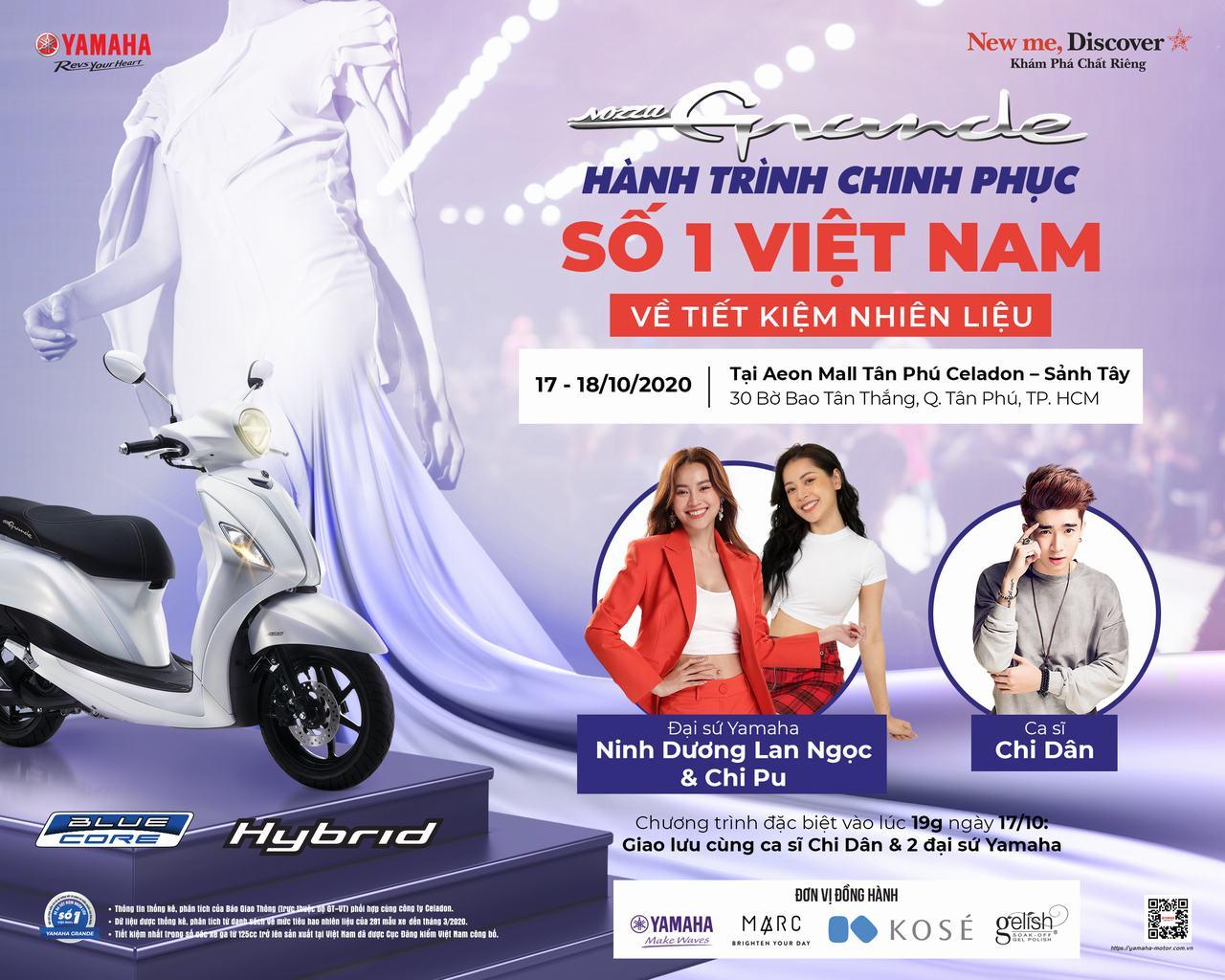 Yamaha Grande Fashion Show - lễ hội dành cho các quý cô - 2