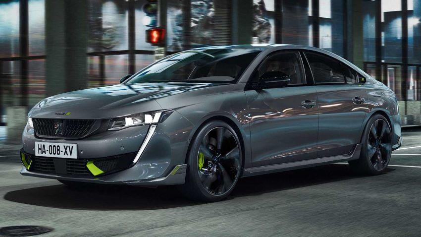 xe Peugeot 508 PSE 2021