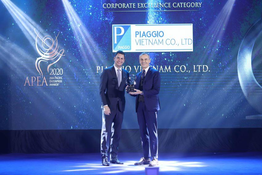 Piaggio giải thưởng châu Á