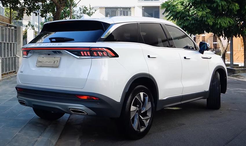 BEIJING X7 về Việt Nam 'đấu' Honda CR-V với giá rẻ và công nghệ 'ngập mặt' - 3