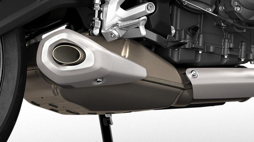 Triumph Trident 660 2021 chính thức ra mắt đấu với Kawasaki Z650-15