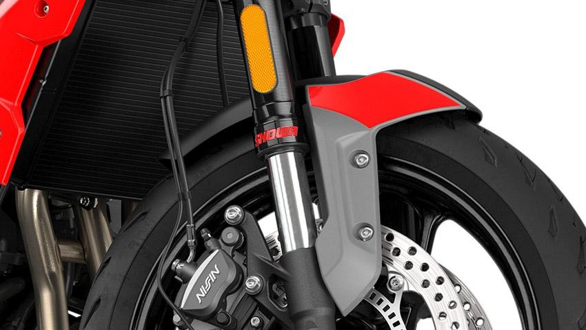 Triumph Trident 660 2021 chính thức ra mắt đấu với Kawasaki Z650 - 6