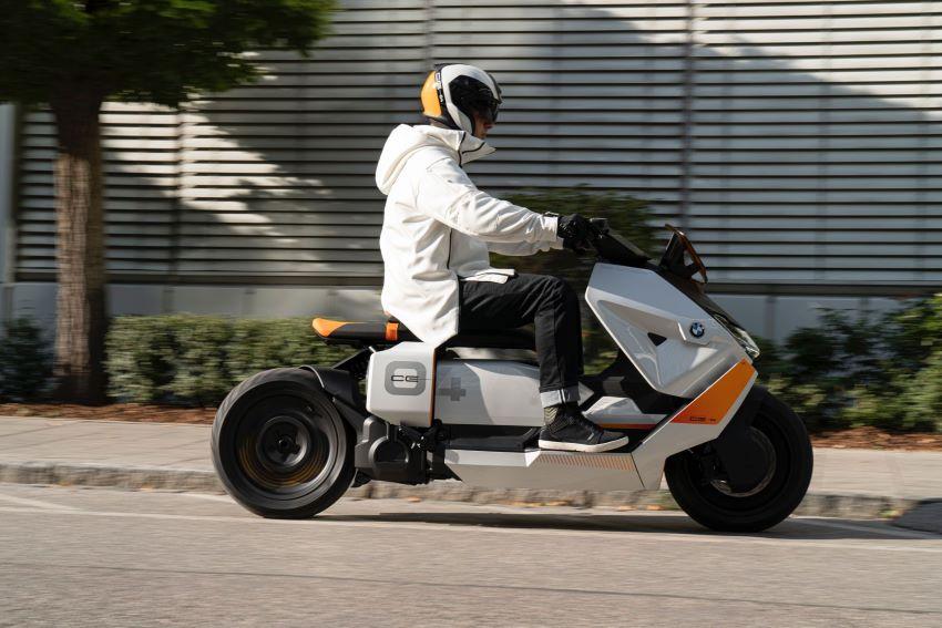 xe tay ga điện BMW