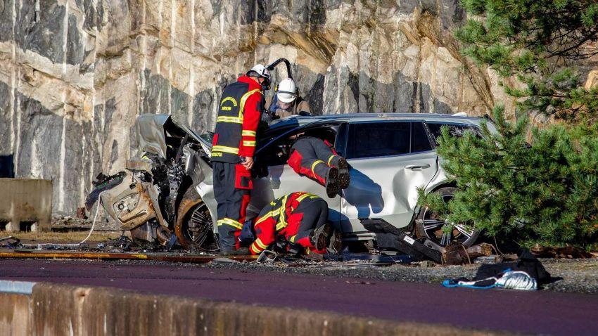 Volvo huấn luyện cứu hộ
