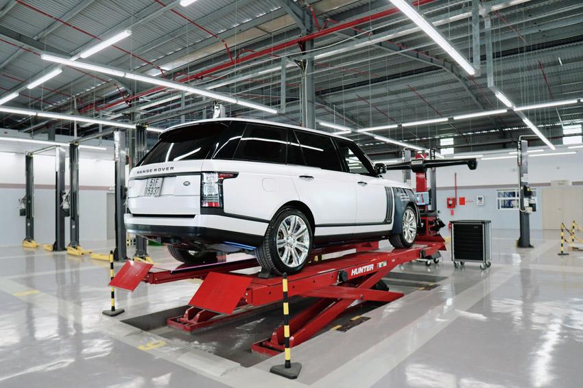 Kiểm tra xe Jaguar hoặc Land Rover miễn phí và ưu đãi 10% chi phí sửa chữa - 5