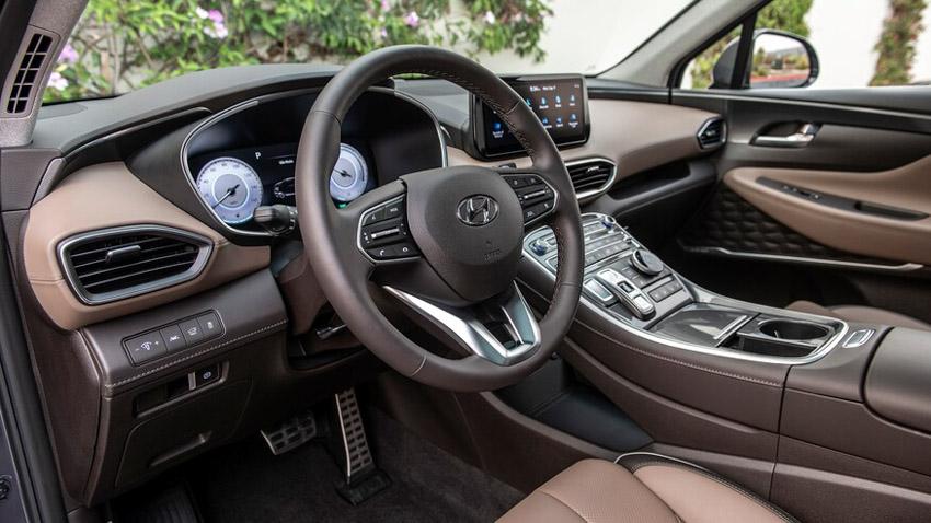 Hyundai Santa Fe 2021 bổ sung thêm phiên bản Hybrid - 21