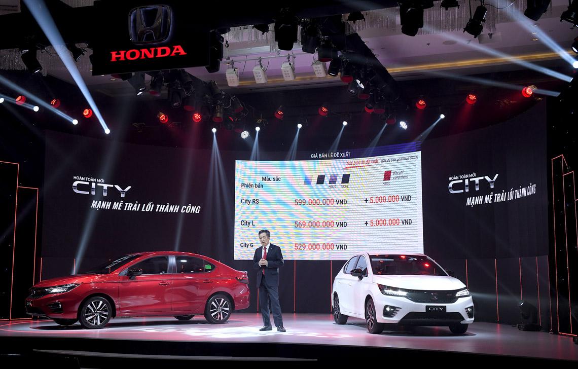 Honda City 2021 chính thức ra mắt có giá bán từ 529 triệu đồng tại Việt Nam - 1