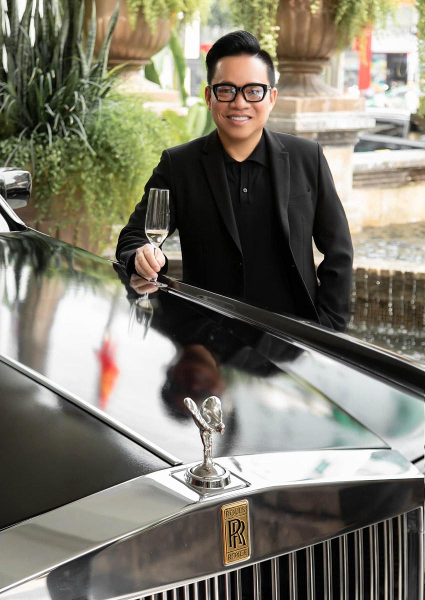 NTK Đỗ Mạnh Cường mua siêu xe Rolls-Royce Phantom mừng sinh nhật tuổi 40 - 3