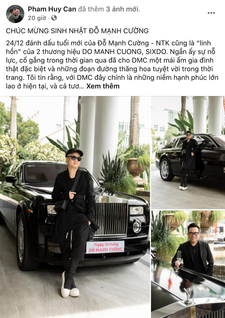 NTK Đỗ Mạnh Cường mua siêu xe Rolls-Royce Phantom mừng sinh nhật tuổi 40 - 4