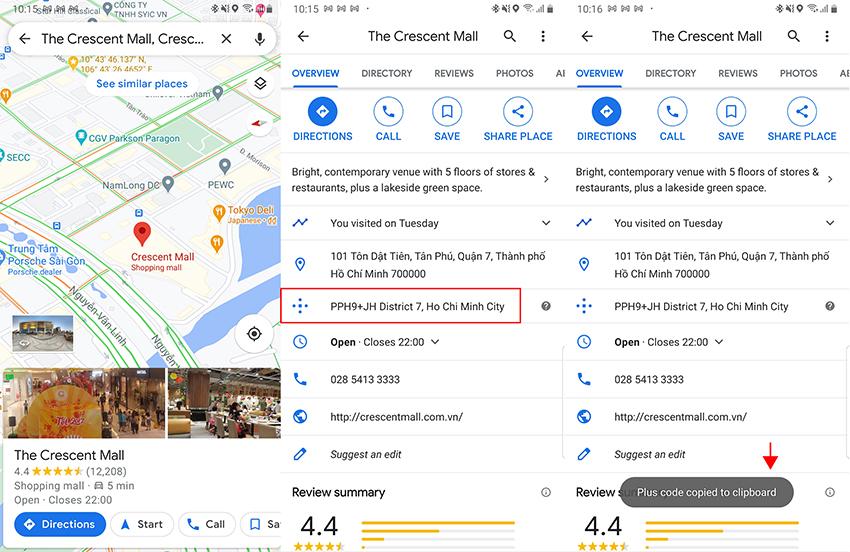 chia sẻ vị trí trên Google Maps - 1
