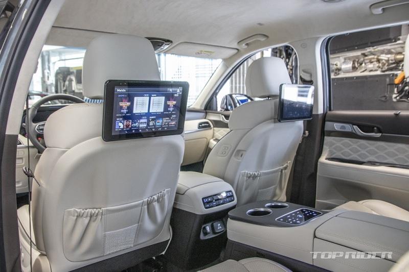 Ngắm Hyundai Palisade phiên bản VIP nội thất sang như Maybach - 5