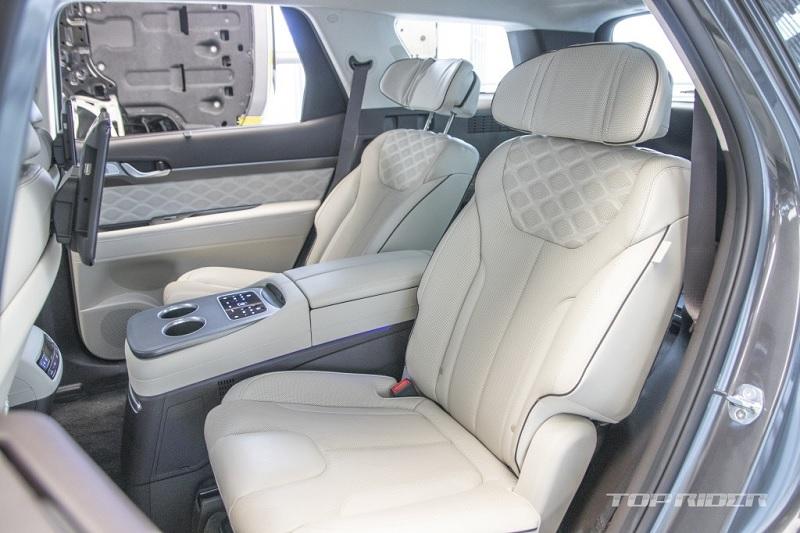 Ngắm Hyundai Palisade phiên bản VIP nội thất sang như Maybach - 6