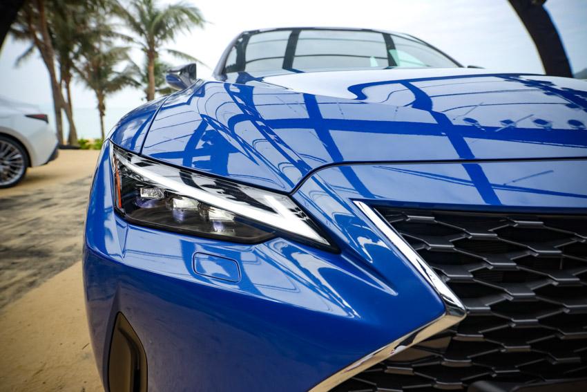 Chiêm ngưỡng sedan thể thao hạng sang cỡ nhỏ Lexus IS 2021 ra mắt tại Việt Nam-26
