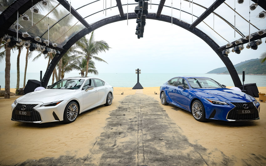 Chiêm ngưỡng sedan thể thao hạng sang cỡ nhỏ Lexus IS 2021 ra mắt tại Việt Nam-35