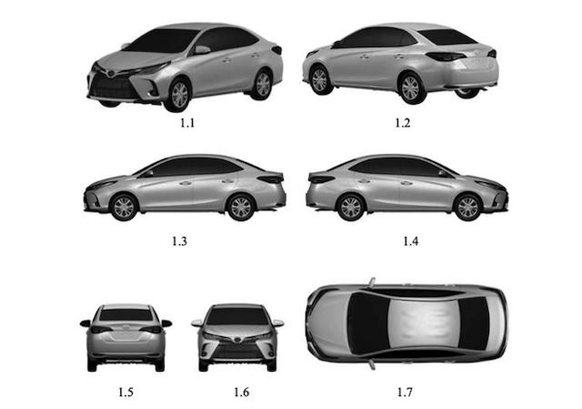 Lộ thiết kế Toyota Vios 2021 sắp trình làng Việt Nam- 6