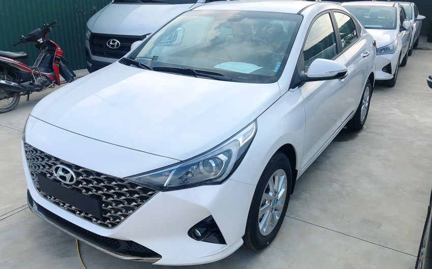 Hyundai Accent 2021 cũng hút khách với các nâng cấp đáng giá