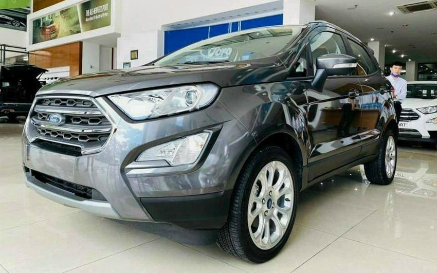 Ford EcoSport cũng là một trong những mẫu xe ăn khách hiện tại
