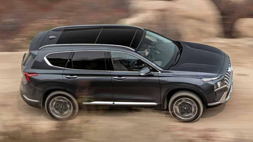 Hyundai Santa Fe 2021 tăng giá, bổ sung bản Hybrid - 1