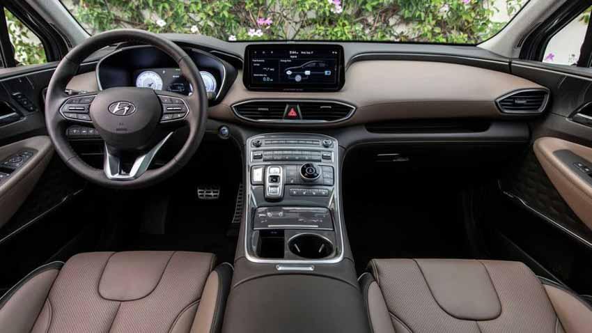 Hyundai Santa Fe 2021 tăng giá, bổ sung bản Hybrid - 2