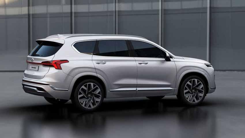 Hyundai Santa Fe 2021 tăng giá, bổ sung bản Hybrid - 6