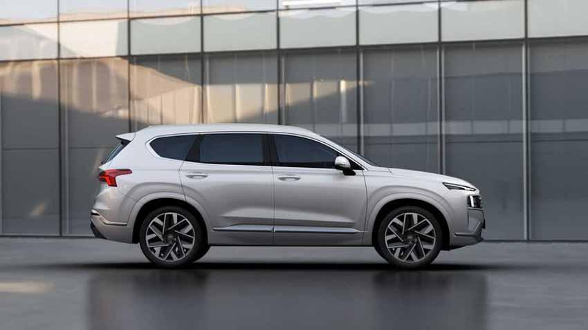 Hyundai Santa Fe 2021 tăng giá, bổ sung bản Hybrid - 7