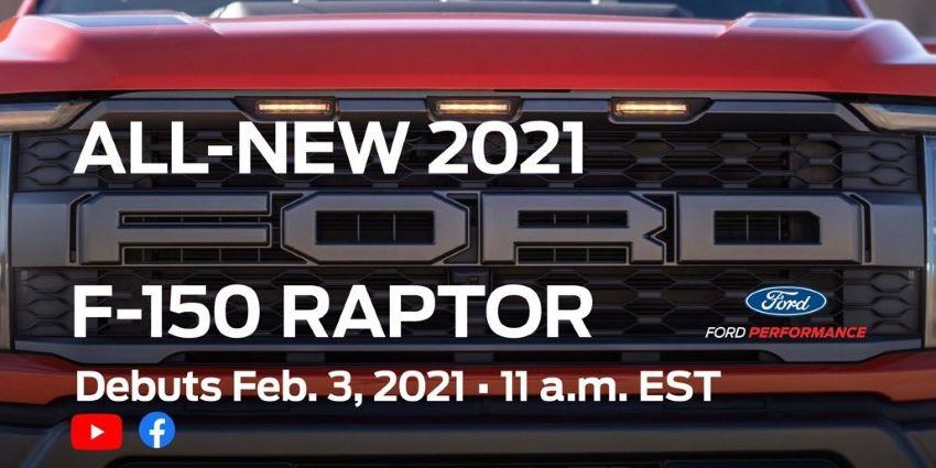 F-150 Raptor 2021 mới