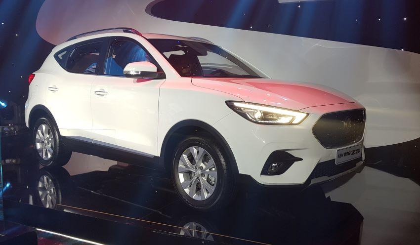 MG ZS mới