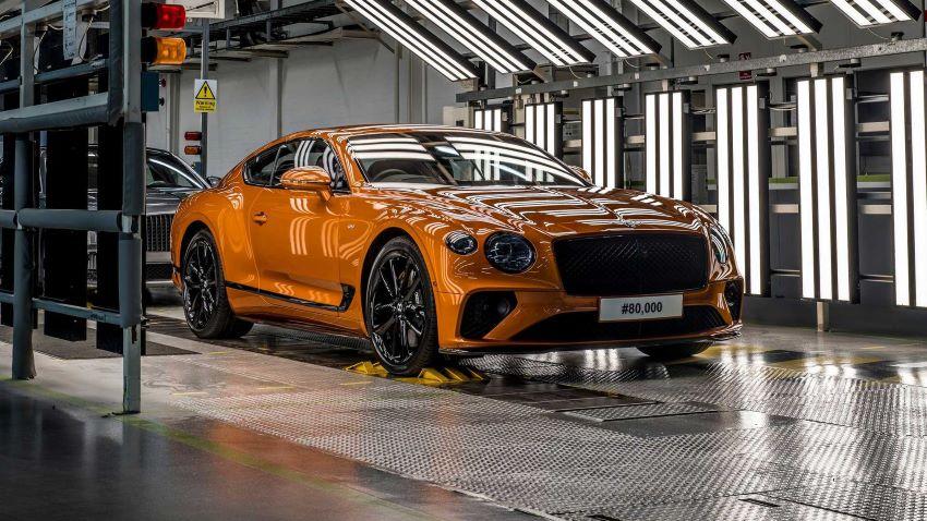Continental GT thứ 80.000