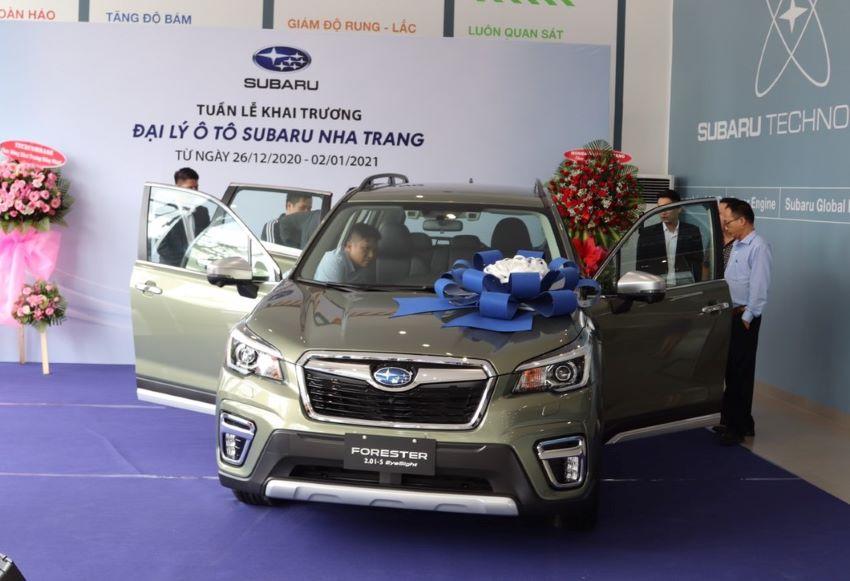 doanh số Subaru 2020
