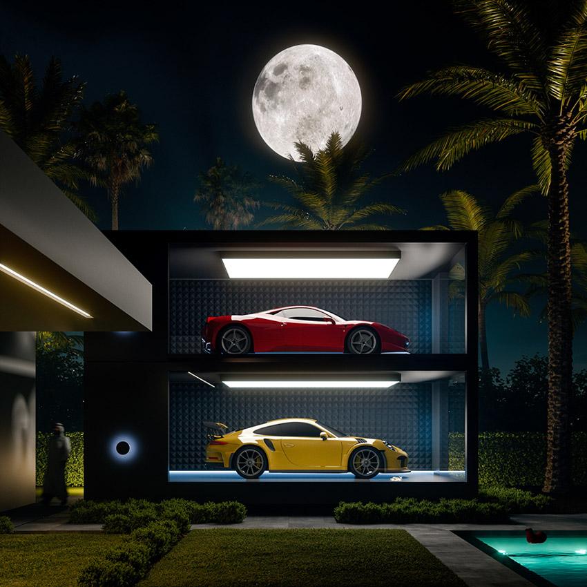 Chiêm ngưỡng garage siêu xe tuyệt vời nhất dành cho giới siêu giàu - 01
