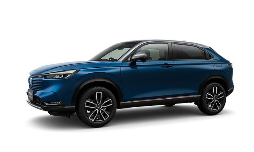 HR-V thế hệ mới giới thiệu đầu tiên tại Nhật Bản. Ảnh: Honda