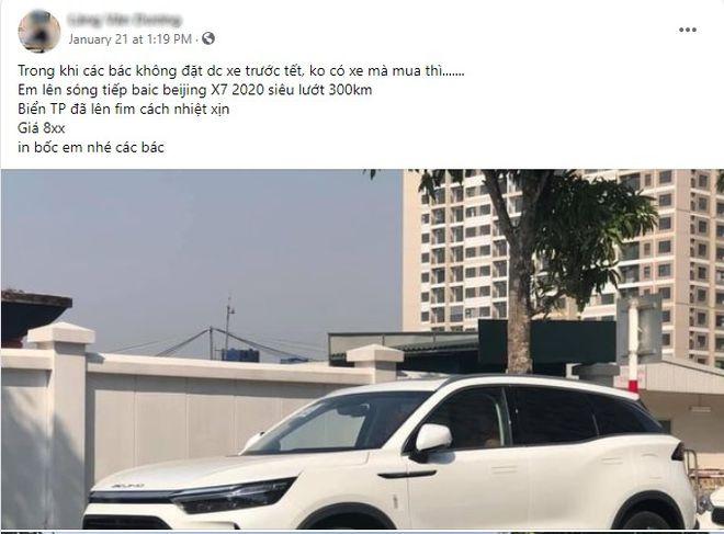 Chạy chưa được 1.000 km, BEIJING X7 đã bị người Việt rao bán - 01