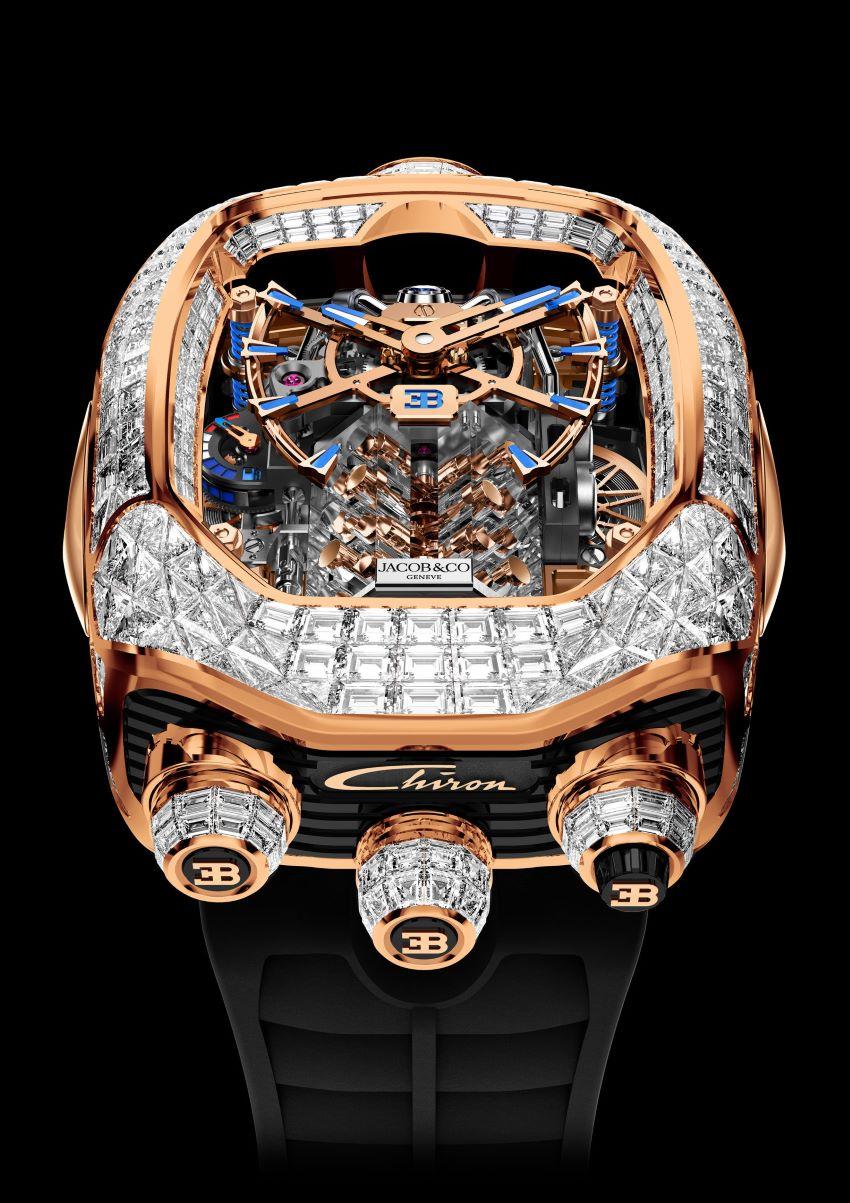 Bugatti Chiron Tourbillon Timepiece