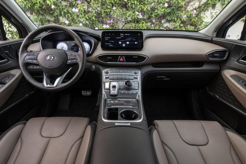 Hyundai Santa Fe 2021 ra mắt tại Indonesia, chờ ngày về Việt Nam-2