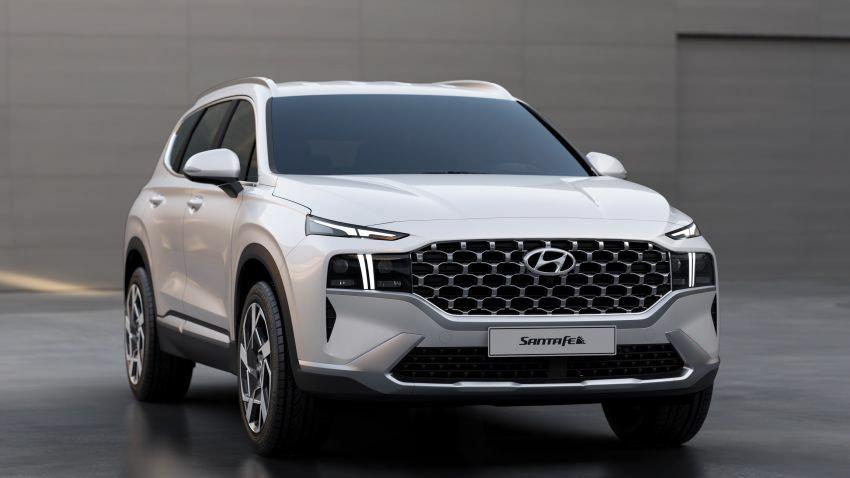 Hyundai Santa Fe 2021 ra mắt tại Indonesia, chờ ngày về Việt Nam-8