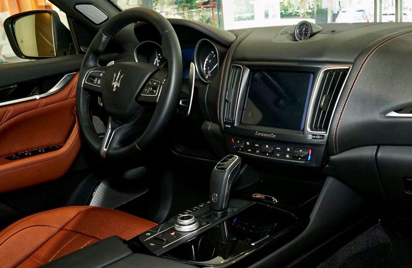Maserati Levante Zegna PelleTessuta