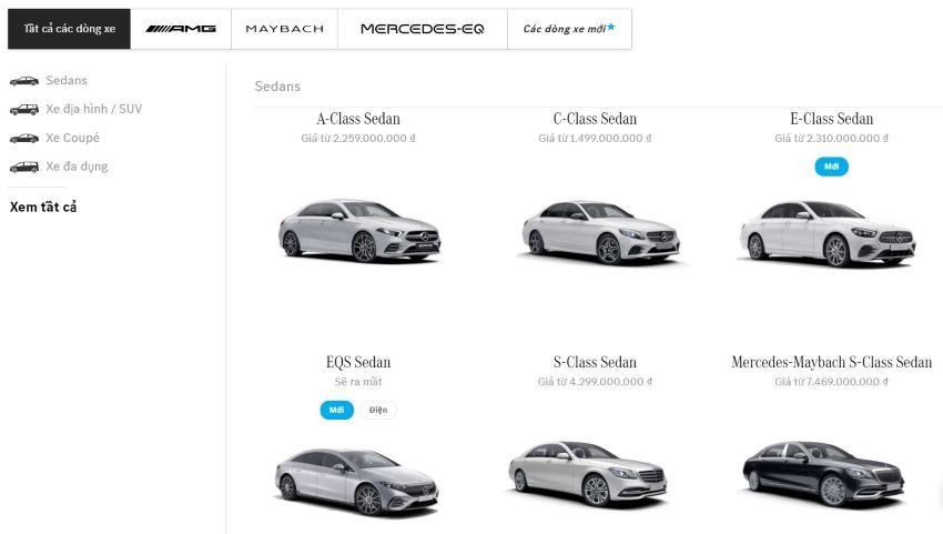 Mercedes EQS Việt Nam