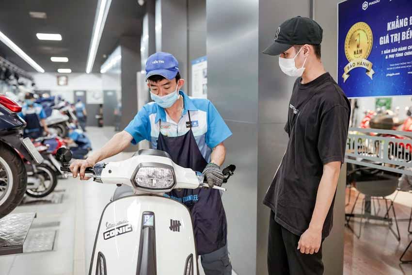 Piaggio Việt Nam tăng thời gian bảo hành xe và phụ tùng Piaggio và Vespa - 1