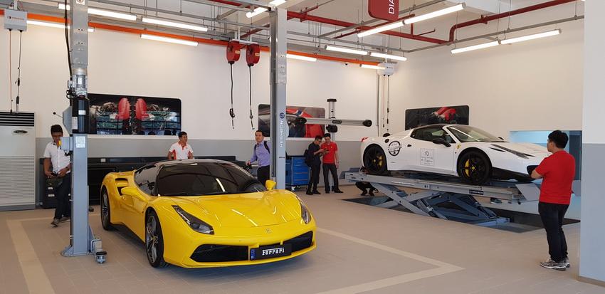 Triệu hồi Ferrari