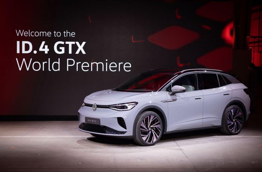 Volkswagen ID.4 GTX mới