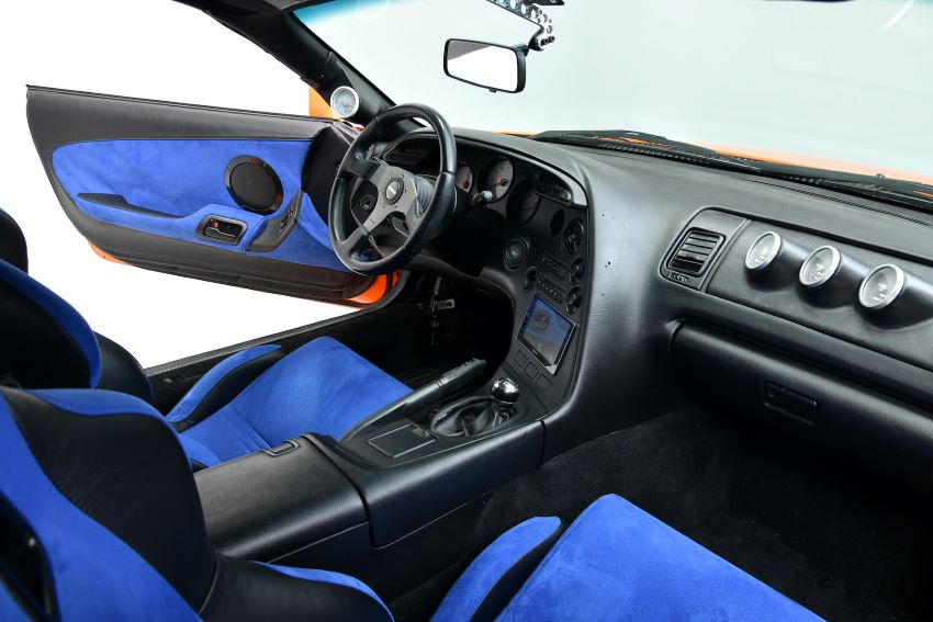 Toyota Supra Paul Walker