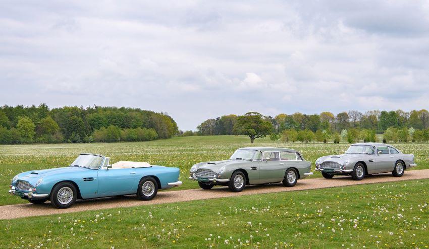 xe cổ Aston DB5