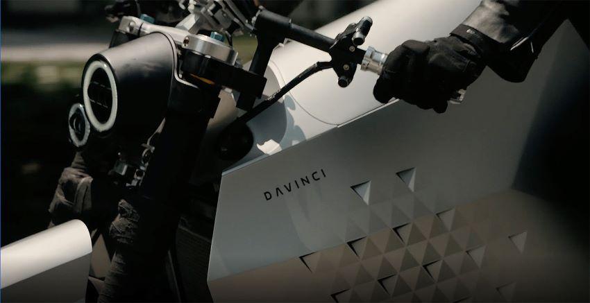 Davinci giới thiệu xe máy điện DC100 và DC Classic